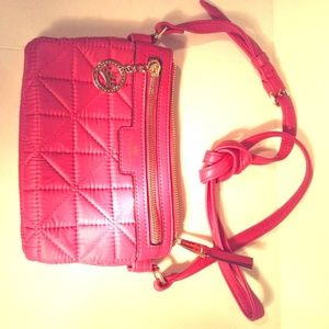 Juicy Couture Crown Jewel Quilted Crossbody Purse